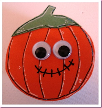 Halloween Pumpkin Favor Tin