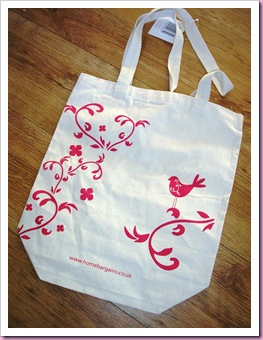 Home Bargains Shopping Bag