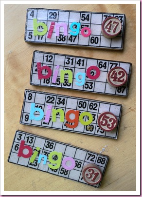 Bingo Card Fridge magnets