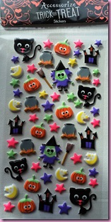 Accessorize Halloween Stickers