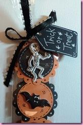 Tag on Halloween Sweetie bag