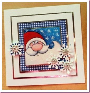 Santa Gift Tag Card