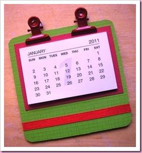 Beer mat Coaster Calendar 1