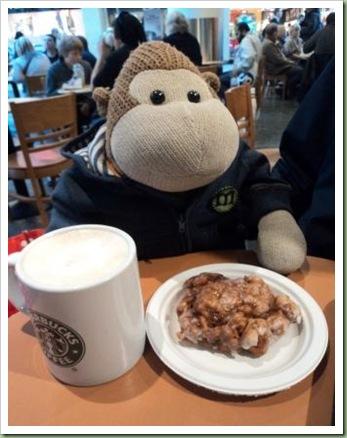 Apple Donut at Starbucks