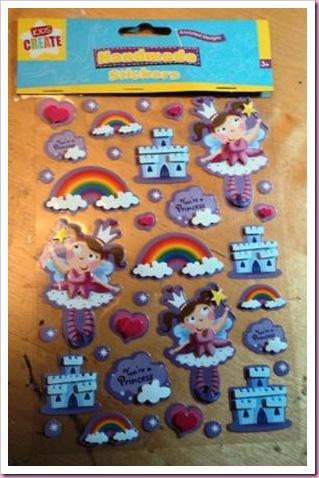 Poundland Fairy Stickers