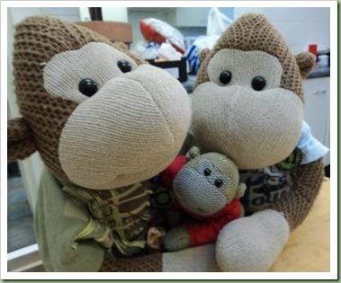 Christmas PG Tips Monkey a