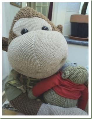PG Tips Monkey Christmas 2010