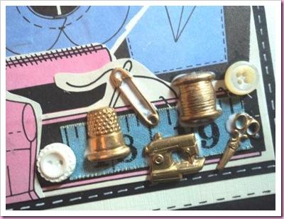 Vintage Dressmakers Card 1