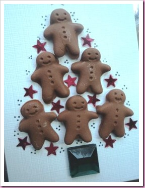 Gingerbread Man Christmas Tree 1