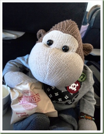 In flight refreshments onboard BA