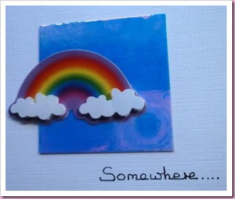 Somewhere Over The Rainbow Card
