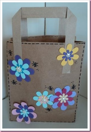 Altered Lunch Bag
