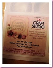 My Craft Studio Die Cut Pack