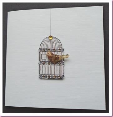 PaperArtsy Bird Cage
