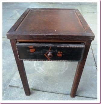 Woodworm table
