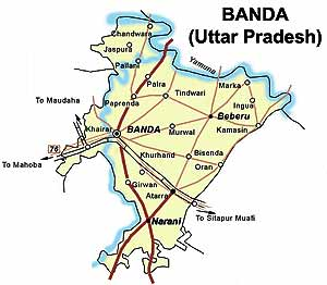 ICT Banda District  Naraini Block  Panchayat and Village List