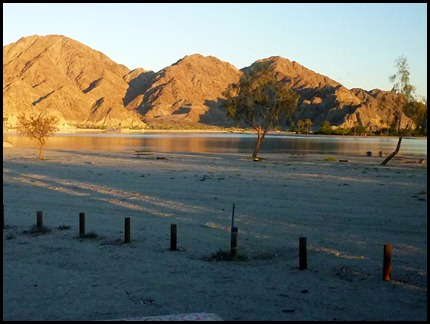 Lake Cahuilla view from Site 42, Nov 2010