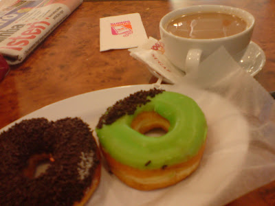 Dunkin donuts @ KL Central