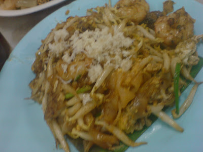 Char Koay Teow and Prawn Mee @ New Lane, Penang