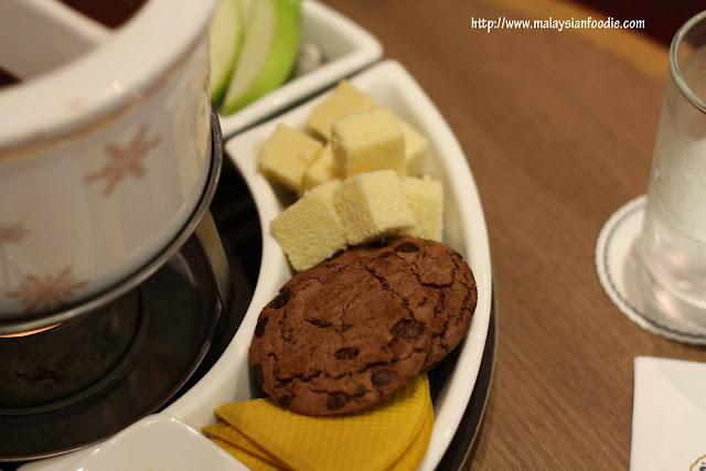 Chocolate Fondue @ Haagen Dazs, 1 Utama