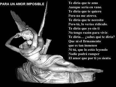 un amor imposible. frases de amor imposible.