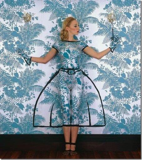 unusual bod yart gown form