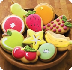 Fruit Biscuits Shape