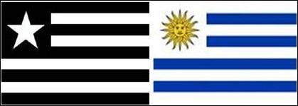 Botafogo Uruguai bandeiras