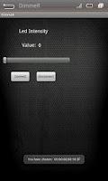 Screenshot of Tenet : Slider App Arduino LED