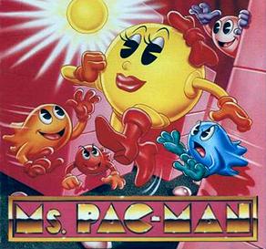Ms Pacman logo