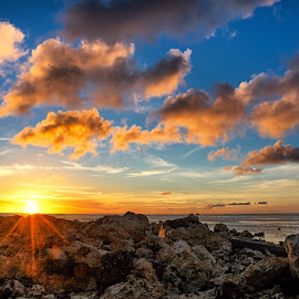 An Easter Sunset by Jun Robato - Landscapes Sunsets & Sunrises