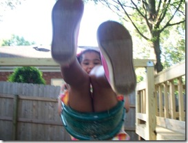 K swinging