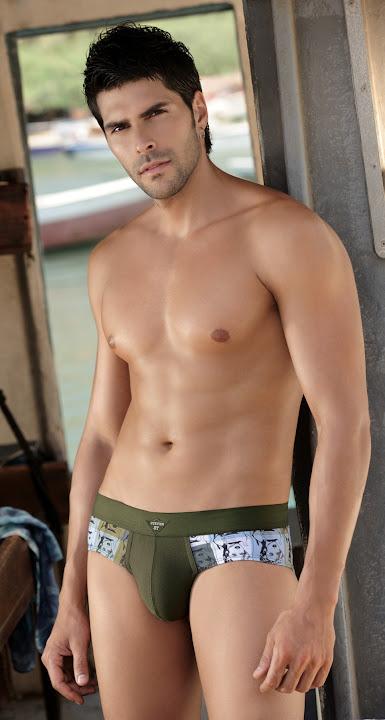 Sexy Underwear Guy Juan Pablo Llano