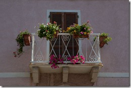 A Santa Teresa balcony