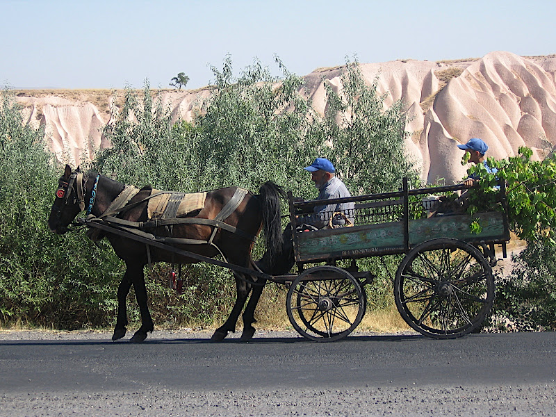 La Cappadocia VIII: carro