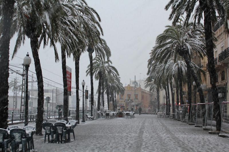 Rambla de Badalona nevada VII