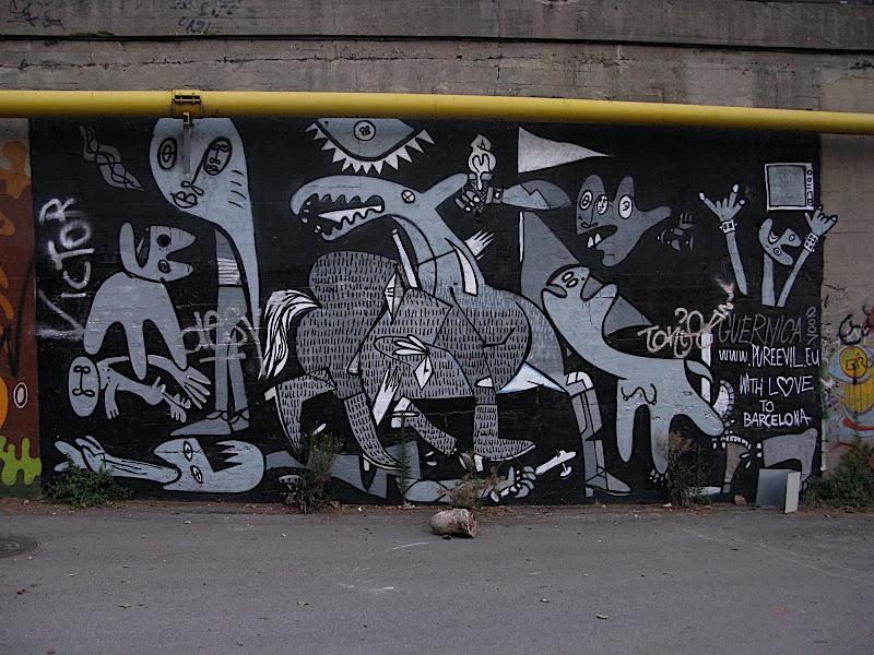 Graffitti: Guernica (+)