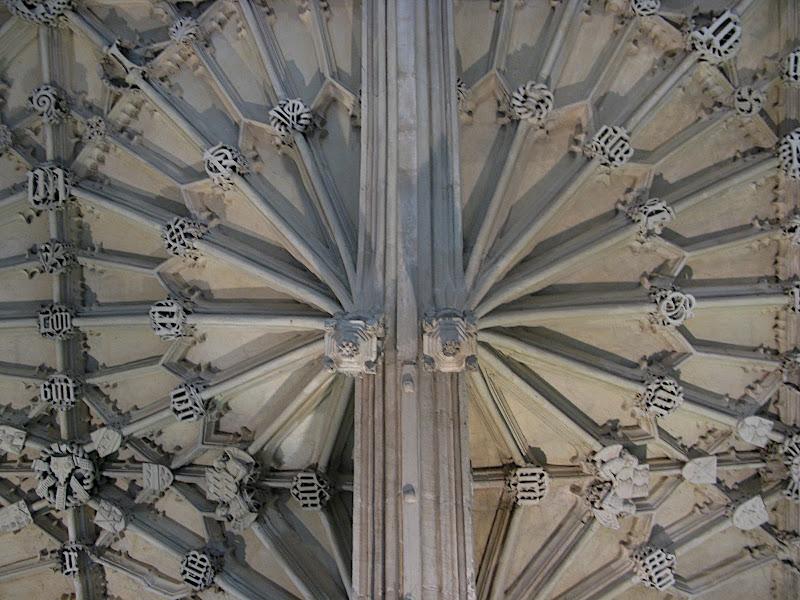 Detall del sostre, Bodleian Library, Oxford