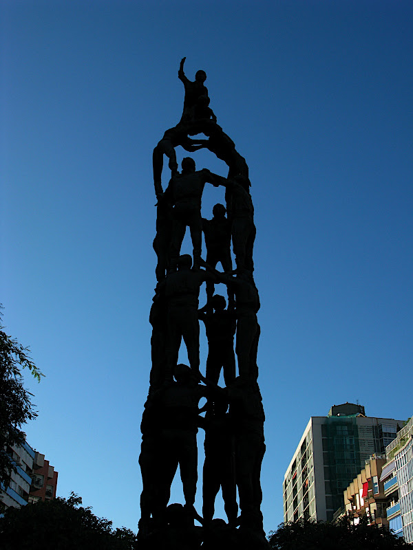 Monument als Castellers, Tarragona (II)