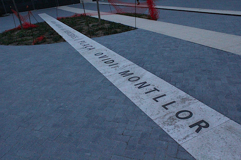 Plaça Ovidi Montllor de Badalona