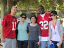 Ashley Lab with Niners
