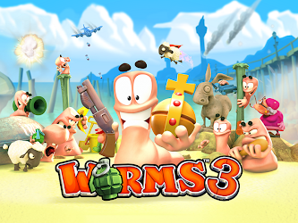 Worms 3 Mod 2.06 Apk [Unlimited Money] 1