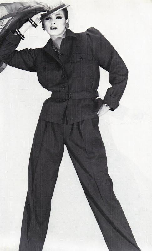 Yves Saint Laurent, colección primavera verano 1979