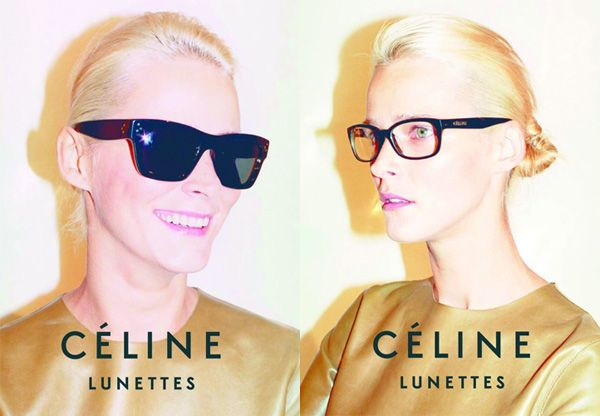 Celine Lunettes, campa&ntilde;a primavera verano 2010