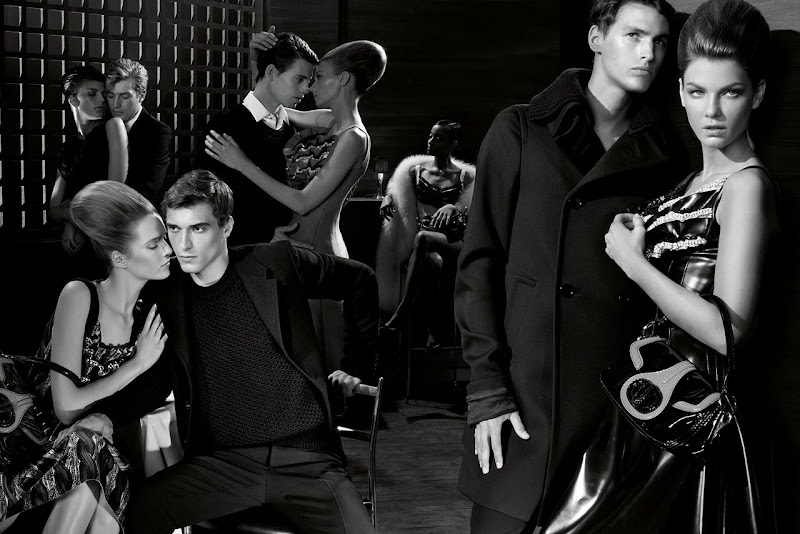 Prada, campa&ntilde;a colecci&oacute;n Hombre oto&ntilde;o 2010