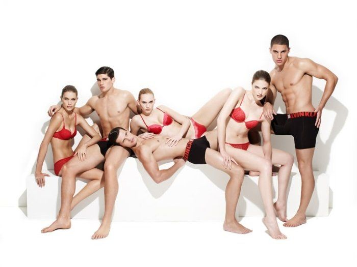 CK Underwear Holiday 2010 Campaign