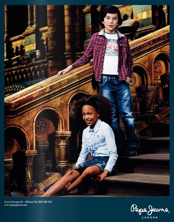 Pepe Jeans Kids, campaña otoño invierno 2010