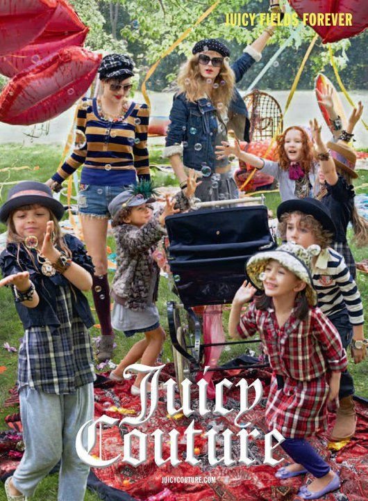 Juicy Couture, campa&ntilde;a infantil oto&ntilde;o invierno