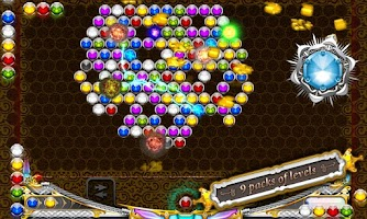 Screenshot of Angry Bubble Shooter