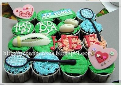PenangCakes_Evadis_Cupcakes-Badminton_Theme